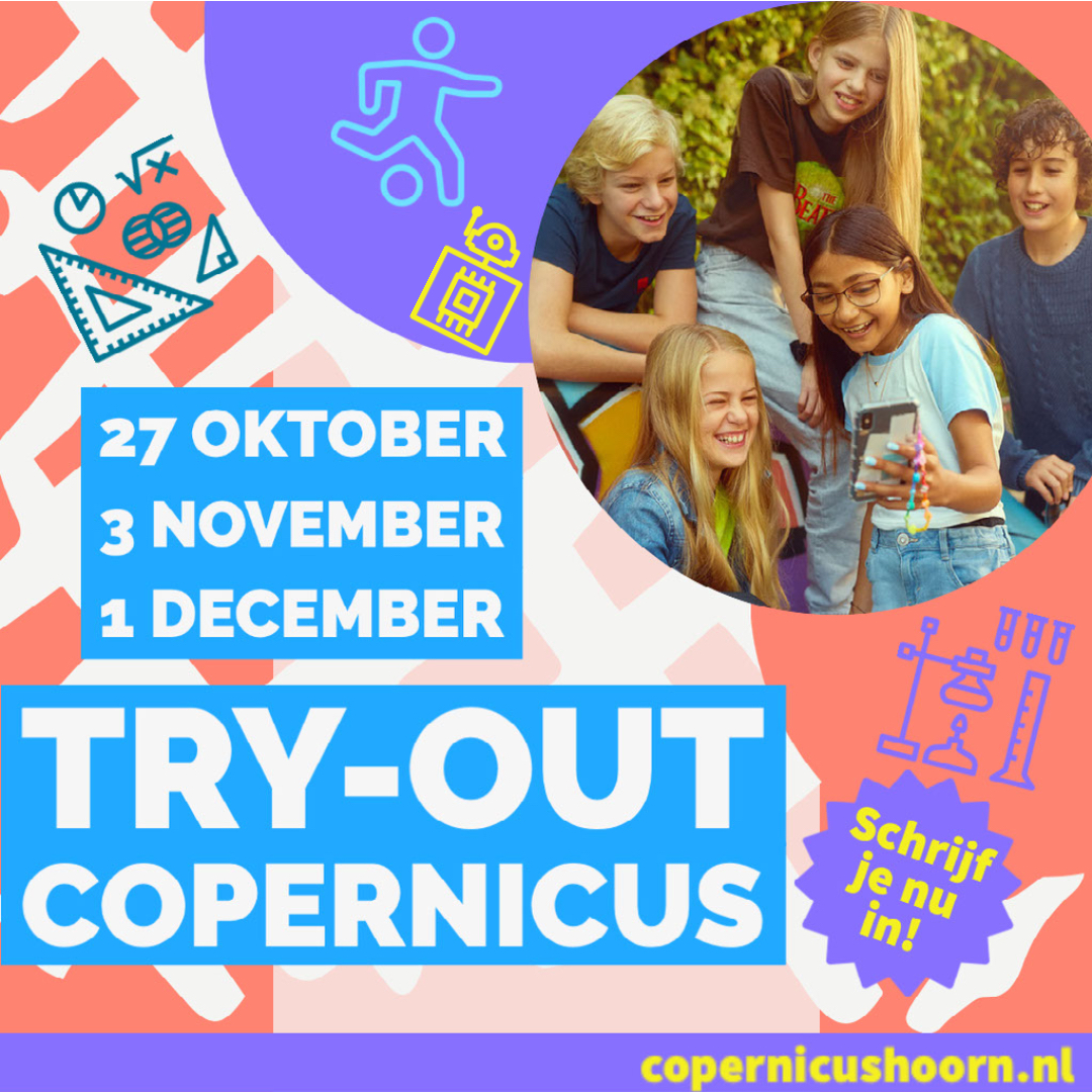 """Featured image for """"Try-out event Copernicus voor groep 7 en groep 8"""""""
